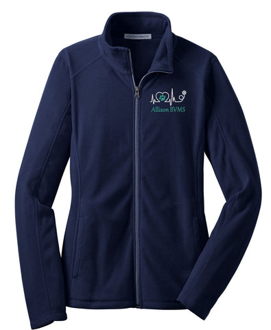 Vet Tech Lightweight Fleece Jacket - LADIES