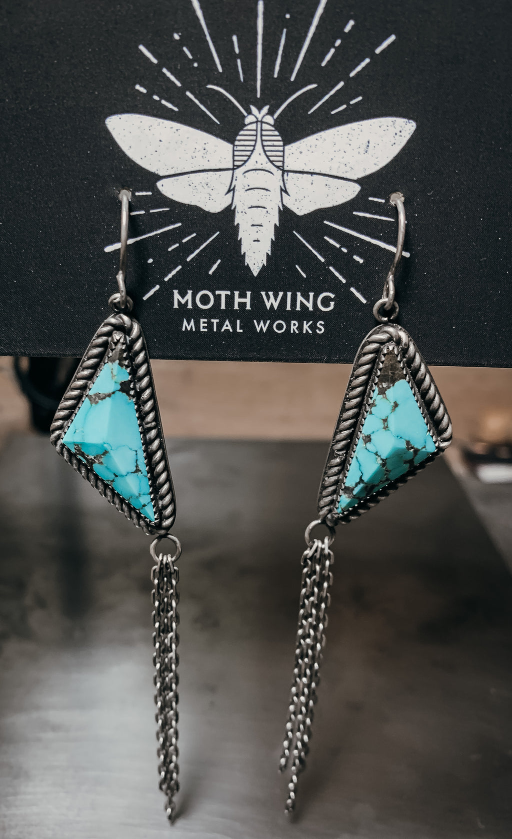 Turquoise and fringe dangles