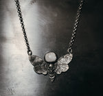 Death head moth necklace