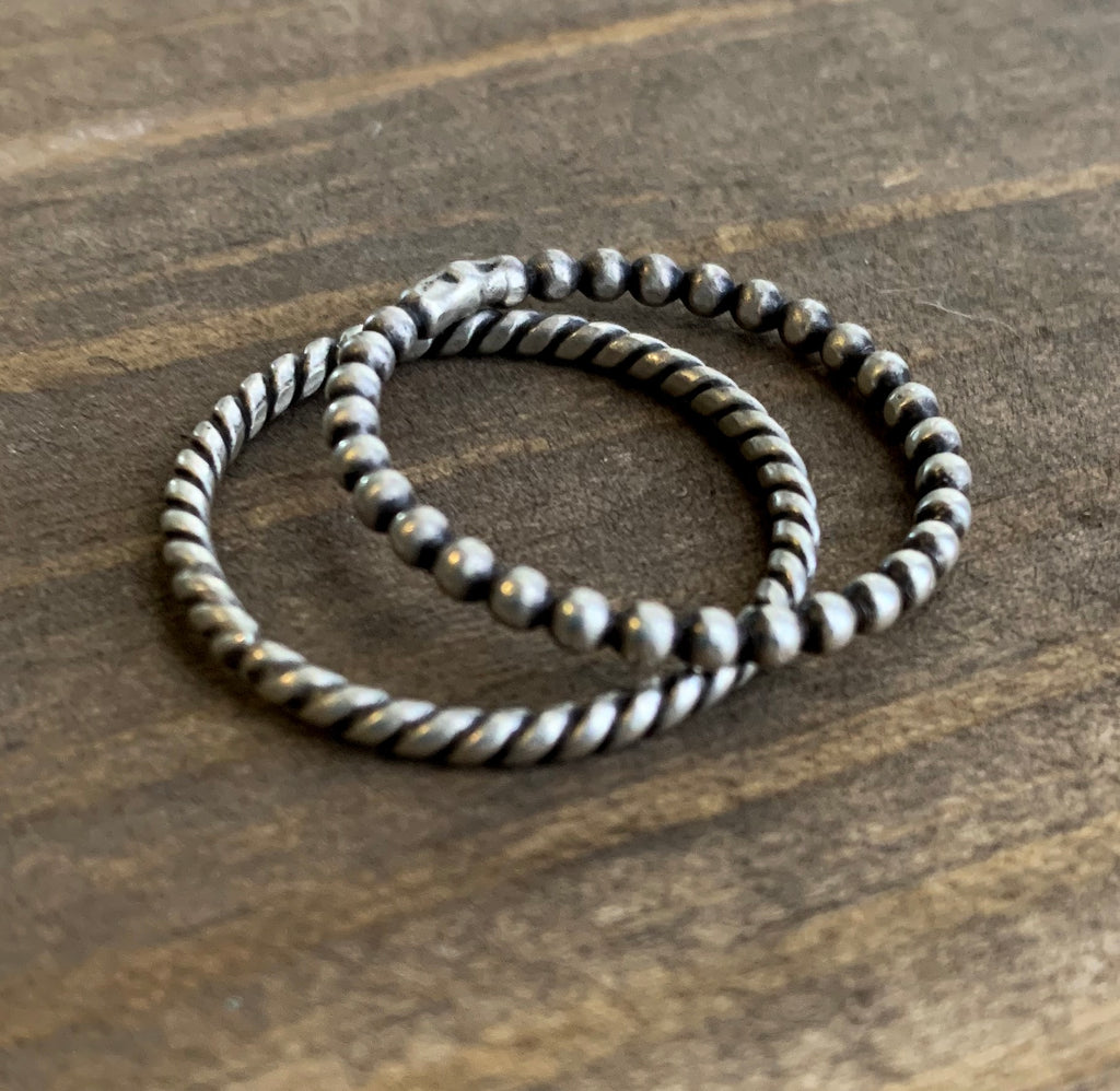 Single band *Twist*stacker ring