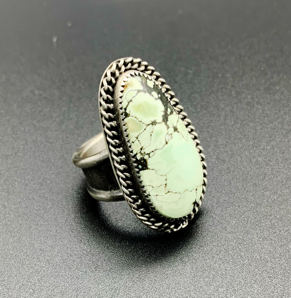 Minty turquoise ring size 7