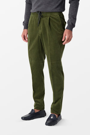Incotex Casual Trousers Olive