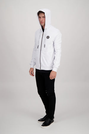 Philipp Plein 20th Anniversary Hoodie in White