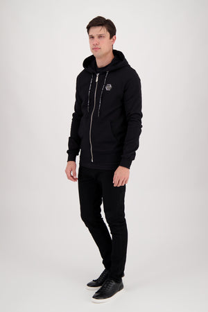Philipp Plein 20th Anniversary Hoodie in Black