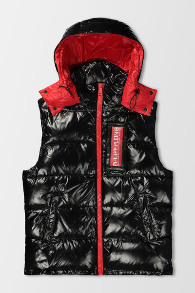 Philipp Plein 20th Anniversary Vest in Black