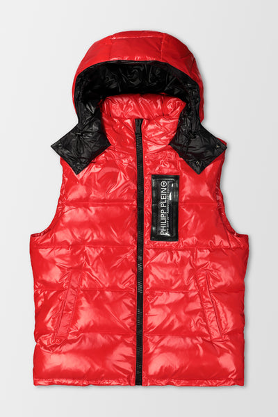 Philipp Plein 20th Anniversary Vest in Red