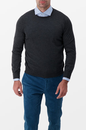 Barba Napoli Cashmere Sweater Grey