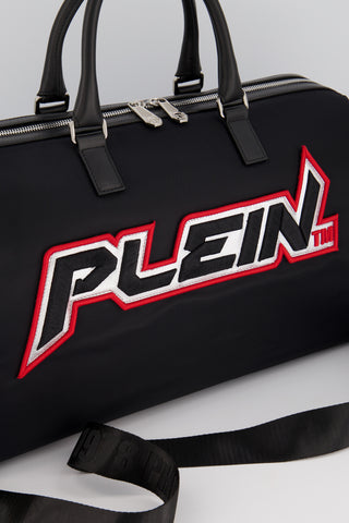 Philipp Plein Space Plein Travel Bag Black