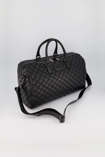 Billionaire Medium Travel Bag Black Nickel - Final Sale