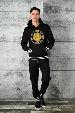 Billionaire Hoodie Luxury Black/Gold - Final Sale