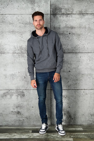 Philipp Plein Hoodie Statement in Grey