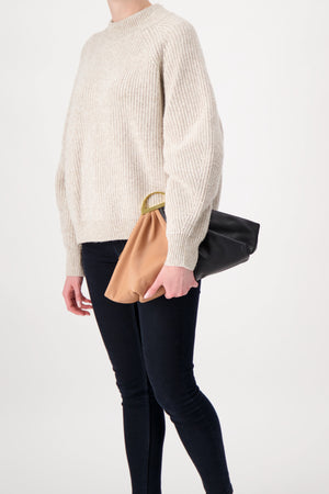 The Volon Gabi Handbag Maple And Black