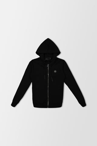 Philipp Plein Hoodie Sweatjacket Signature Black