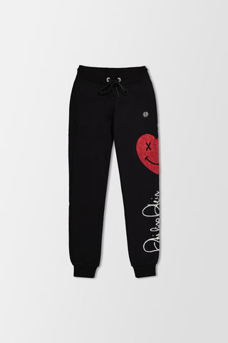Philipp Plein Jogging Trousers Signature Black