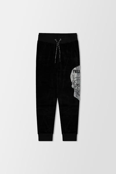 Philipp Plein Jogging Trousers Skull Black/Silver