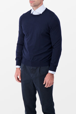 Barba Napoli Cashmere Sweater Blue