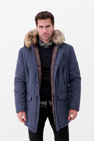 Barba Napoli LAPI3 Jacket Grey
