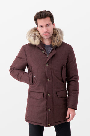 Barba Napoli LAPI3 Jacket Burgundy