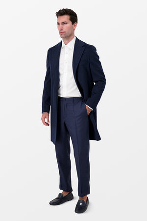 Barba Napoli Brio Overcoat Navy