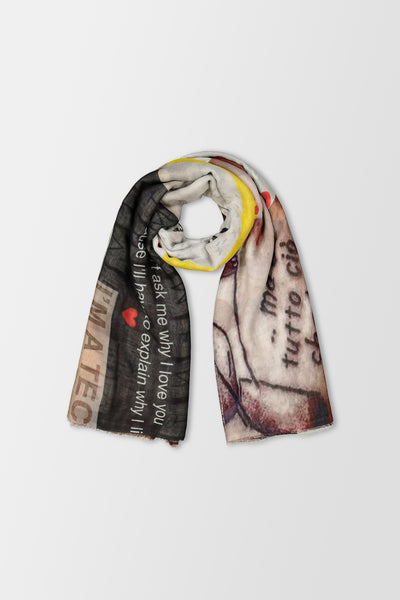 Faliero Sarti Ensemble Scarf Multicolour