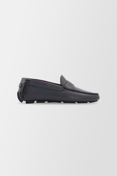 Billionaire Moccasins Crest shoes Dark Blue
