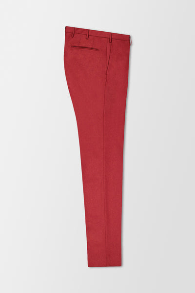 Incotex Classic Trousers Red