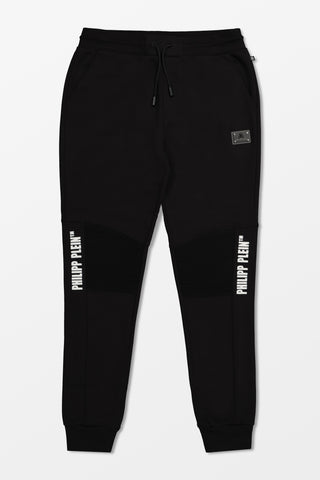Philipp Plein Jogging Trousers Statement Black
