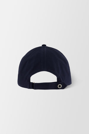Billionaire Soft Visor Hat Statement Dark Blue