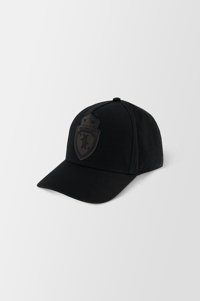 Billionaire Soft Visor Hat Crest Black/Gold