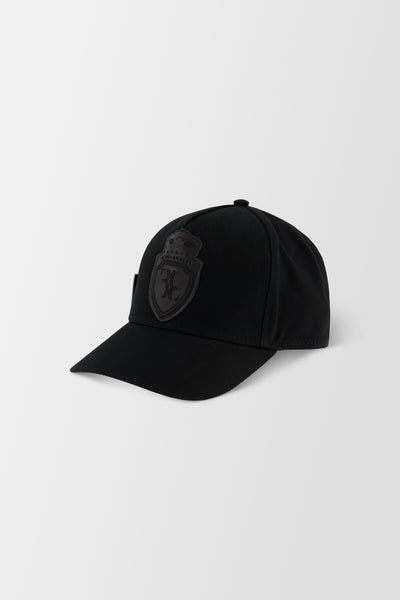 Billionaire Soft Visor Hat Crest Black/Nickel