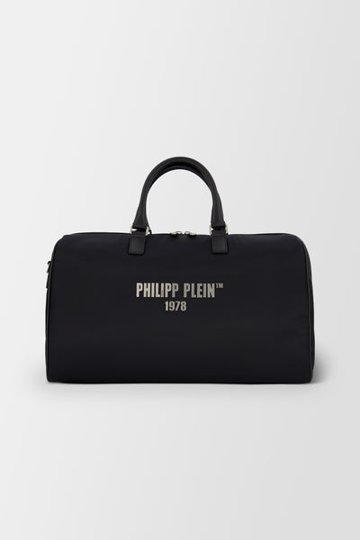 Philipp Plein Medium Travel Bag PP 1978 Black