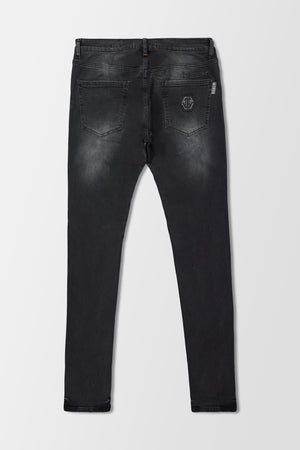 Philipp Plein Super Straight Cut Statement trousers Dirty Eyes