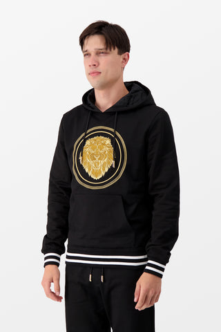 Billionaire Hoodie Luxury Black/Gold