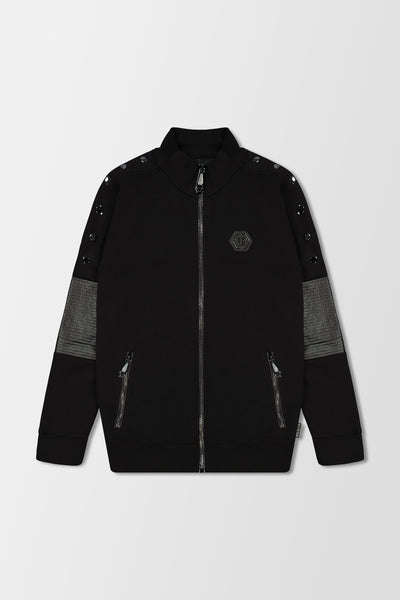 Philipp Plein Jogging Jacket Statement Black