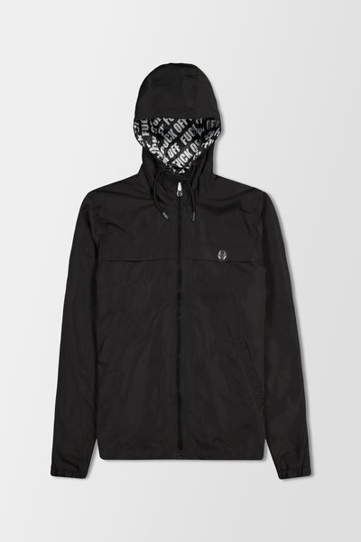Philipp Plein Nylon Jacket Evil Smile Black