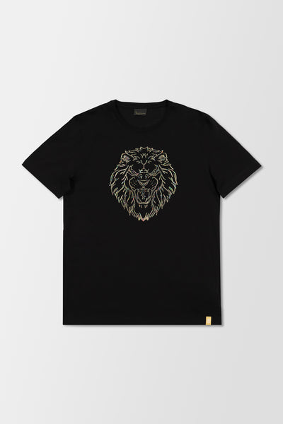 Billionaire SS Lion T-Shirt Black