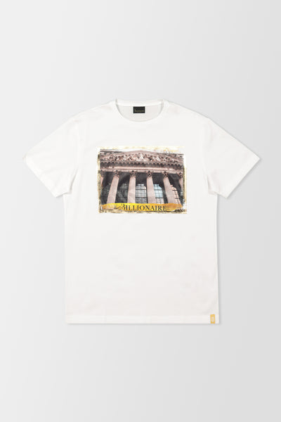 Billionaire Polo SS Money T-Shirt White