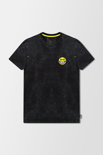 Philipp Plein T-Shirt Round Neck SS Evil Smile Black