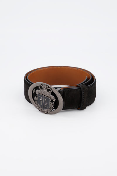 Billionaire Belt Crest Black Nickel