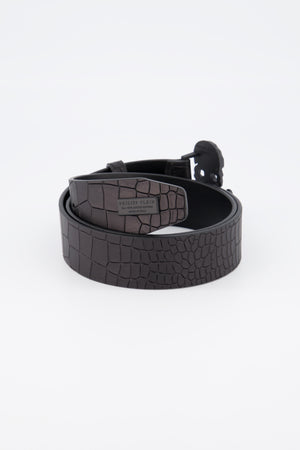 Philipp Plein Belt Skull Black - Final Sale