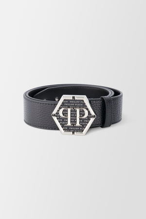Philipp Plein Belt Hexagon Black