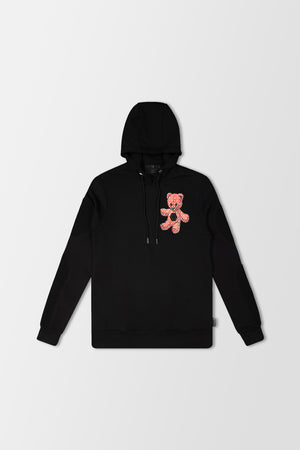Philipp Plein Hoodie Teddy Bear Red