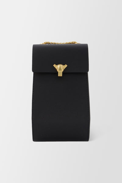 The Volon Phone Case Handbag Black