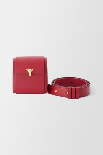 The Volon PO Belt Handbag Wine