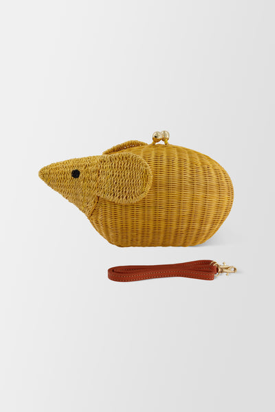 Serpui Mouse handbag Yellow