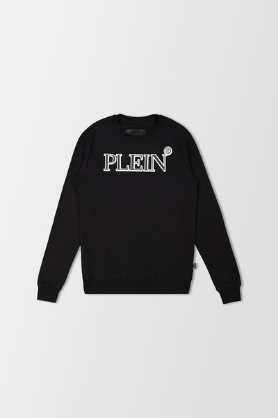 Philipp Plein TM Sweatshirt LS Black/White
