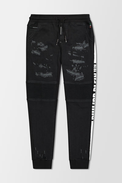 Philipp Plein Slim Shady Chill PP 1978 jeans Black denim