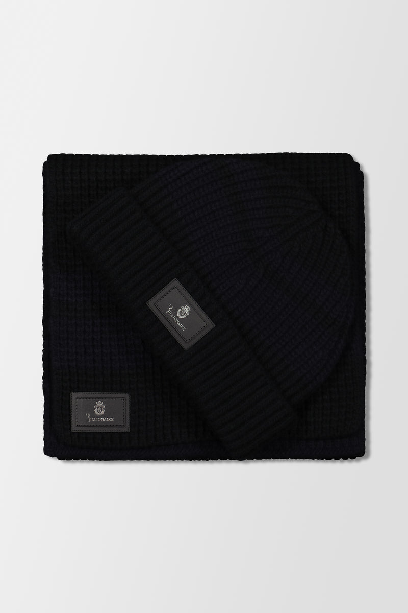 Billionaire Beanie Stripes Dark Blue