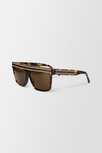 Philipp Plein Sunglasses - Beige/Marrone