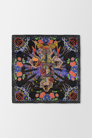 Philipp Plein Square Scarf Multicolour